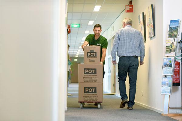 Facilitair beheer: intern verhuizen