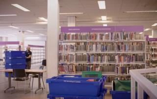Verhuisbedrijf Utrecht: verhuizing bibliotheek